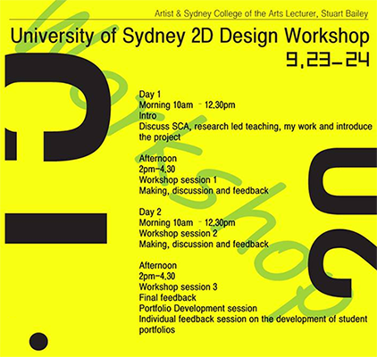 sydney workshop
